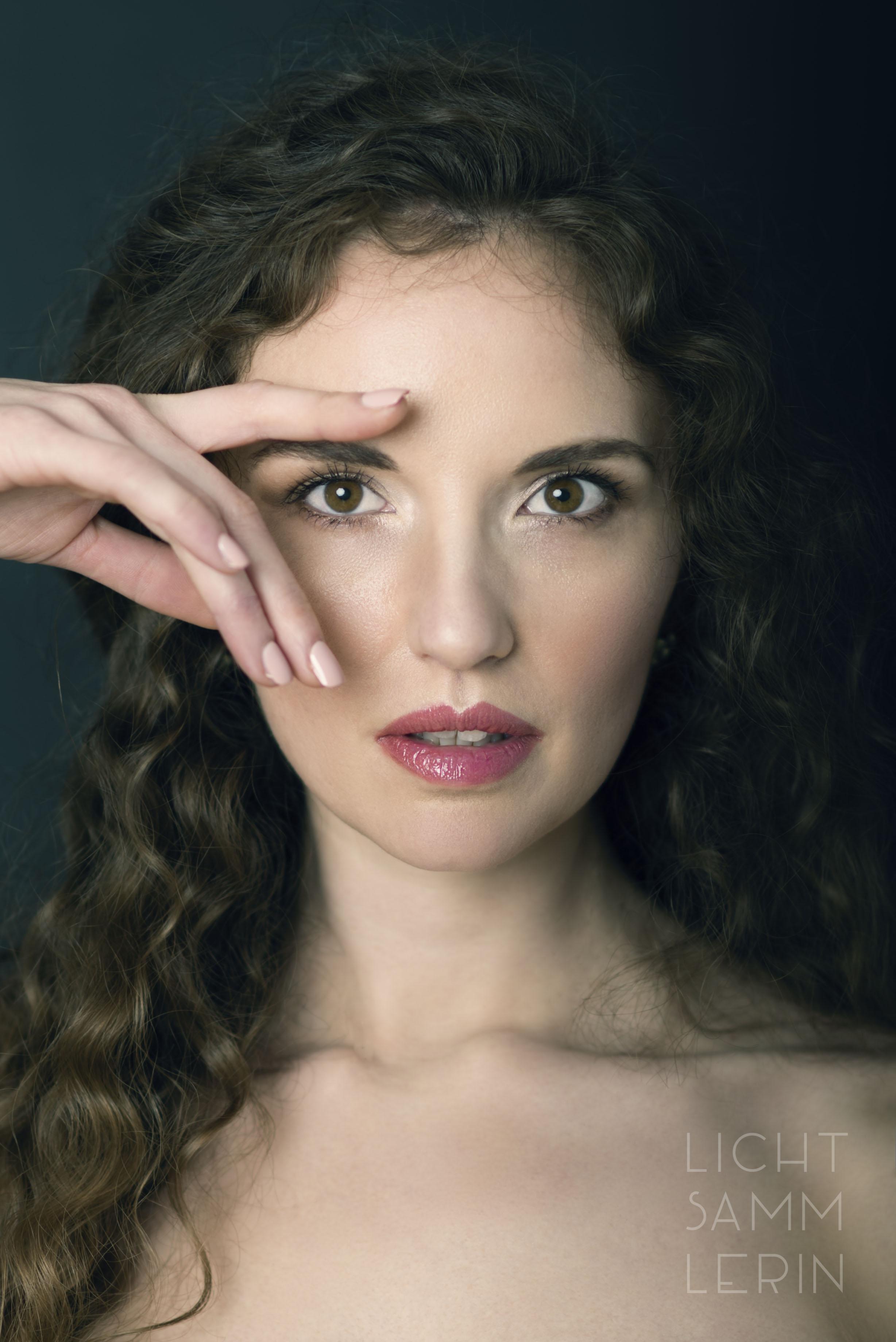 Close Up Female Model Porträt Aachen @Sarah Thelen